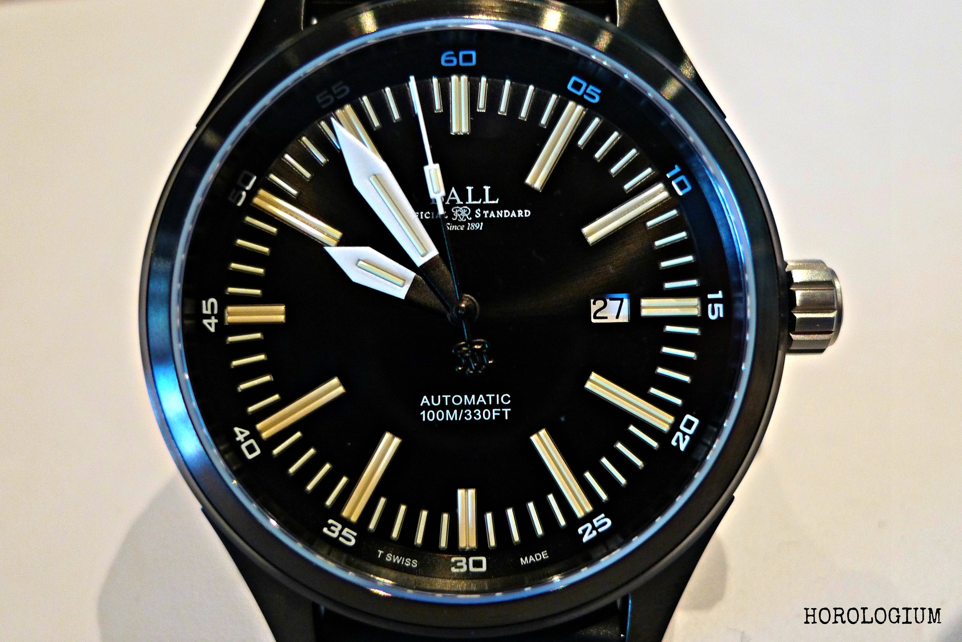 chronograph ball pulsemeter watches timeless introduction ii conductor trainmaster luxury the review reviews