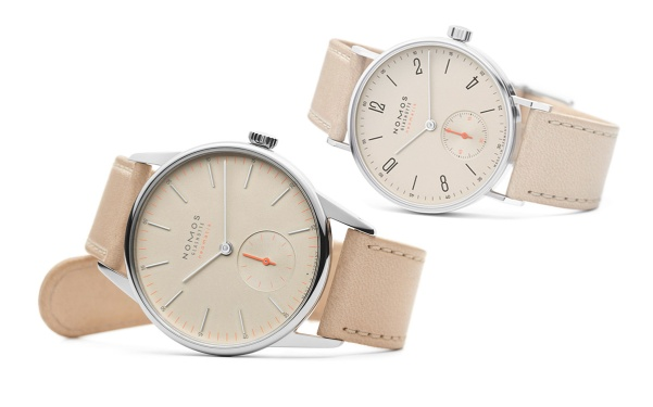 NomosNeomatikCollection15ChampagneDial2